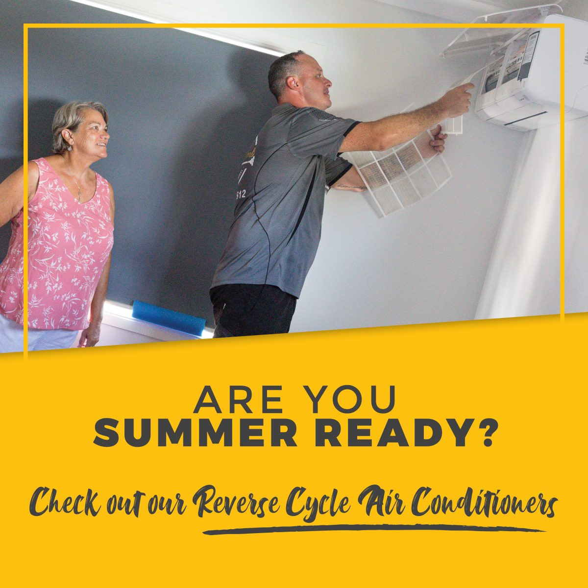 air conditioning installation - Electroplumb